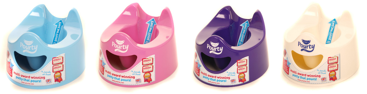 Pourty Training Potty Review and Giveaway